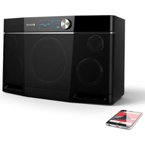 Aiwa-Exos-9-Bluetooth-Speaker-met-NFC-Zwart Indexbild 2